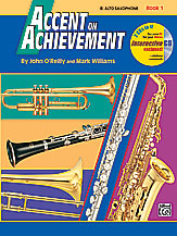 HornHospital.com has Accent on Achievement Book 1 - Alto Saxophone