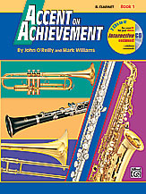 HornHospital.com has Accent on Achievement Book 1 - Clarinet