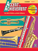 HornHospital.com has Accent on Achievement Book 2 - Clarinet