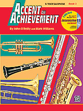 HornHospital.com has Accent on Achievement Book 2 - Tenor Saxophone