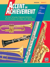 HornHospital.com has Accent on Achievement Book 3 - Bassoon