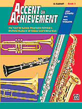 HornHospital.com has Accent on Achievement Book 3 - Clarinet