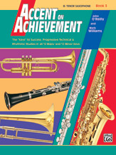 HornHospital.com has Accent on Achievement Book 3 - Tenor Saxophone