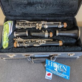 This Artley clarinet is a great instrument for marching band.