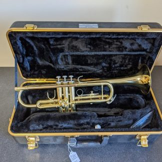 This Bach trumpet is a well suited instrument for a student player.