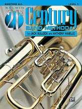 HornHospital.com has Belwin 21st Century Band Method Level 1 - Baritone