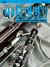 HornHospital.com has Belwin 21st Century Band Method Level 1 - Oboe