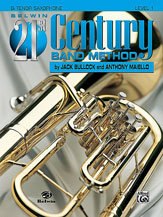 HornHospital.com has Belwin 21st Century Band Method Level 1 - Tenor Saxophone