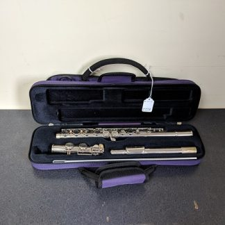 Bundy Nickel-Plated Student Level Flute