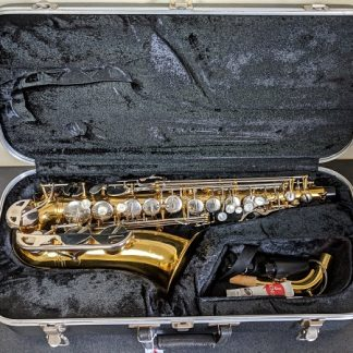 This Conn sax is great for a beginner saxophonist.