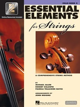 hornhospital.com carries Essential Elements for Strings Book 2 - Cello