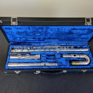 Emerson Alto Flute w/ Sterling Silver Straight Head Joint.