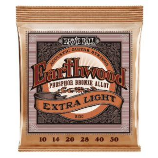 We Carry: Ernie Ball Earthwood Phosphor Bronze Extra Light Acoustic Guitar Strings