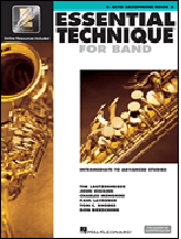 Hornhospital.com has Essential Technique for Band Book 3 - Alto Saxophone
