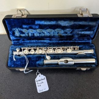 This Gemeinhardt Piccolo has a sterling silver headjoint.