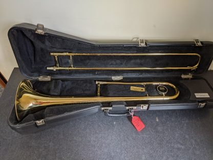 This King trombone is a durable horn for a student player.
