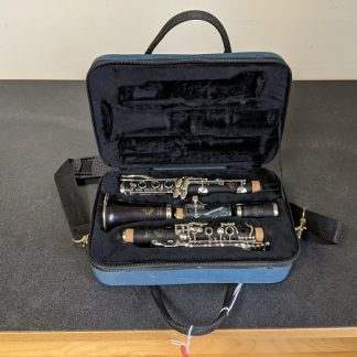 This Leblanc is a professional wooden clarinet.