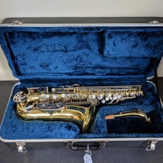 This Olds saxophone would be great for a beginner.