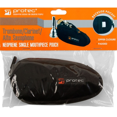 Saxophone Students: HornHospital.com has the Pro Tec Single Mouthpiece Pouch