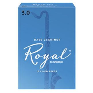 Buy Rico Royal Bass Clarinet Reeds at HornHospital.com #2 and #2.5
