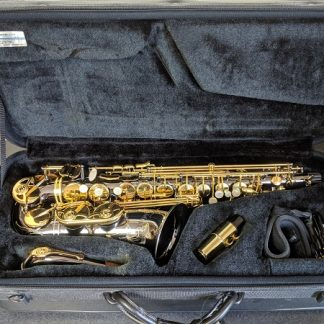 This Selmer is a SAS280RB La Voix alto sax.