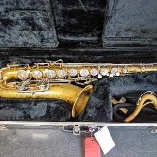 This Selmer tenor sax would be a good choice for marching band.