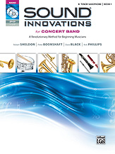HornHospital.com has Sound Innovations for Concert Band Book 1 Tenor Saxophone