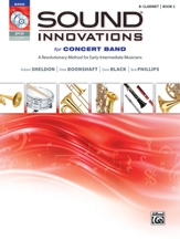 HornHospital.com has Sound Innovations for Concert Band, Book 2 - Clarinet