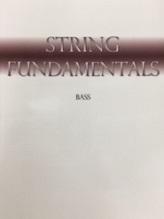String Bass String Fundamentals for beginner