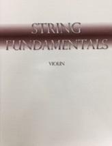 Violin String Fundamentals for beginner