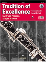 HornHospital.com has Tradition of Excellence Book 1 - Clarinet
