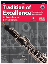 HornHospital.com has Tradition of Excellence Book 1 - Oboe