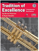 HornHospital.com has Tradition of Excellence Book 1 - Trumpet