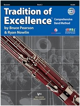 HornHospital.com has Tradition of Excellence Book 2 - Bassoon
