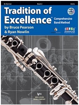 HornHospital.com has Tradition of Excellence Book 2 - Clarinet