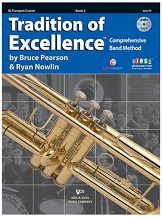 HornHospital.com has Tradition of Excellence Book 2 – Trumpet
