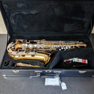 This Vito alto sax is a nice horn for marching band.