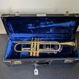 This York trumpet is a student level horn.