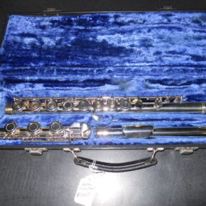 Used Instrument: Artley 5-0 Flute--#38-31432