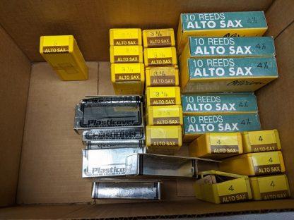 Olivieri and Plasticover Alto Sax Reeds