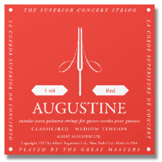 HornHospital.com Recommends: Augustine Red Label Classical Guitar Strings