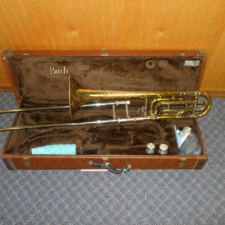 Used Instrument: Bach 36B Rotor Trombone--#10841