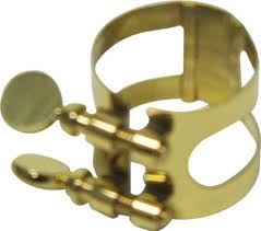 Inverted Alto Saxophone Ligature by Bonade