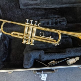 This Bundy trumpet is a good fit for a beginning player.