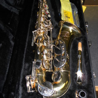 Used Instrument: Bundy II Alto Sax--#1201710
