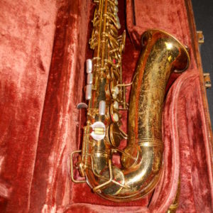 "Used Instrument: Conn ""Naked Lady"" Alto Saxophone--#289495"