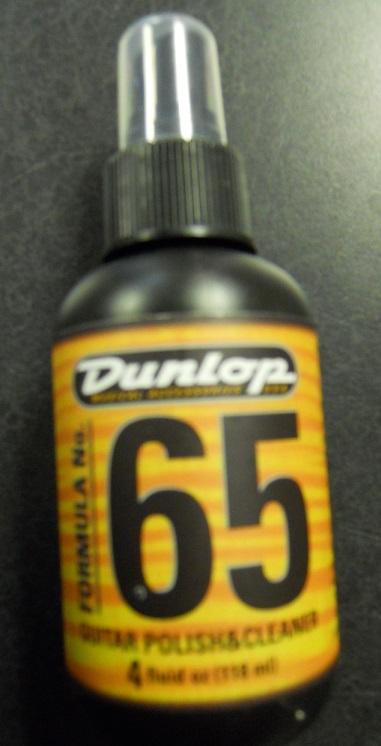 Guitar Players: Dunlop Formula No. 65 Guitar Polish & Cleaner
