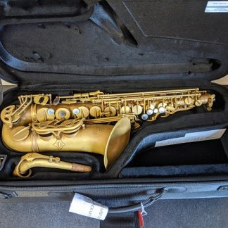 This Eastman EAS-652RL is a professional model alto saxophone.