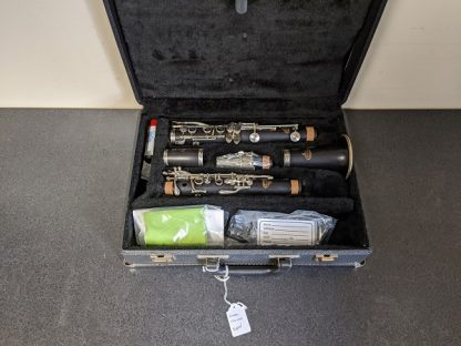 This Evette clarinet plays well and has all new pads and corks.