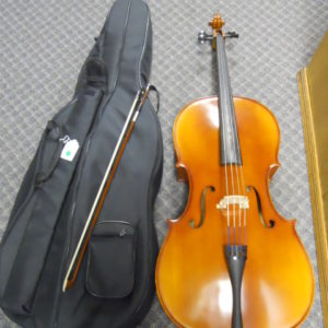 Used Instrument: Germantown 4/4 Cello--#1344101